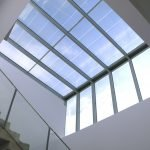 Custom Skylight with photovoltaic glass