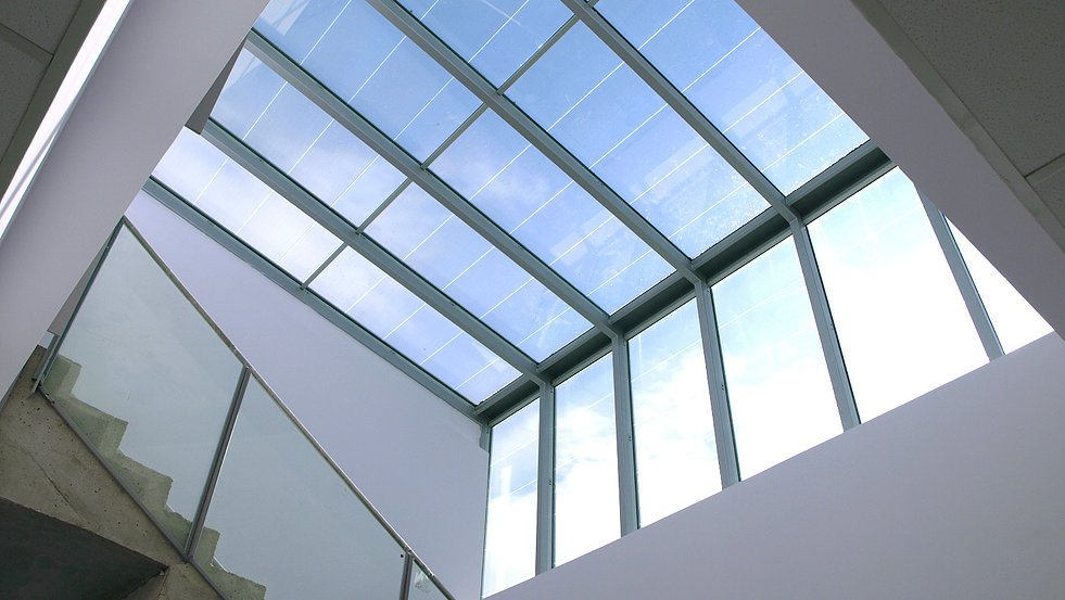 Photovoltaic Skylights Amp Canopies Bipv Skyco