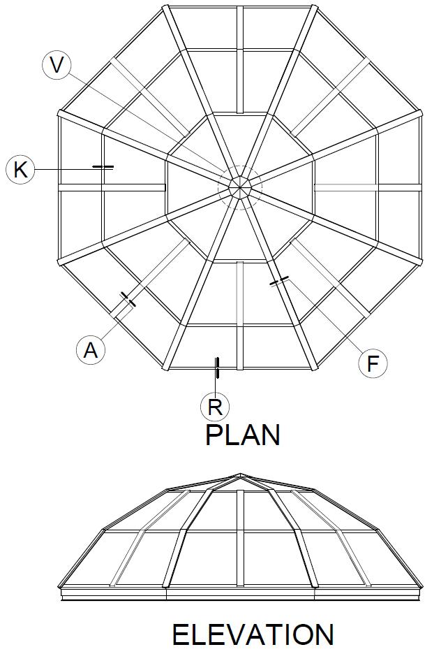 polygon  dome