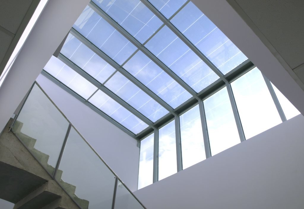 In System Skylights : Skyco skylights manufactures innovative green building