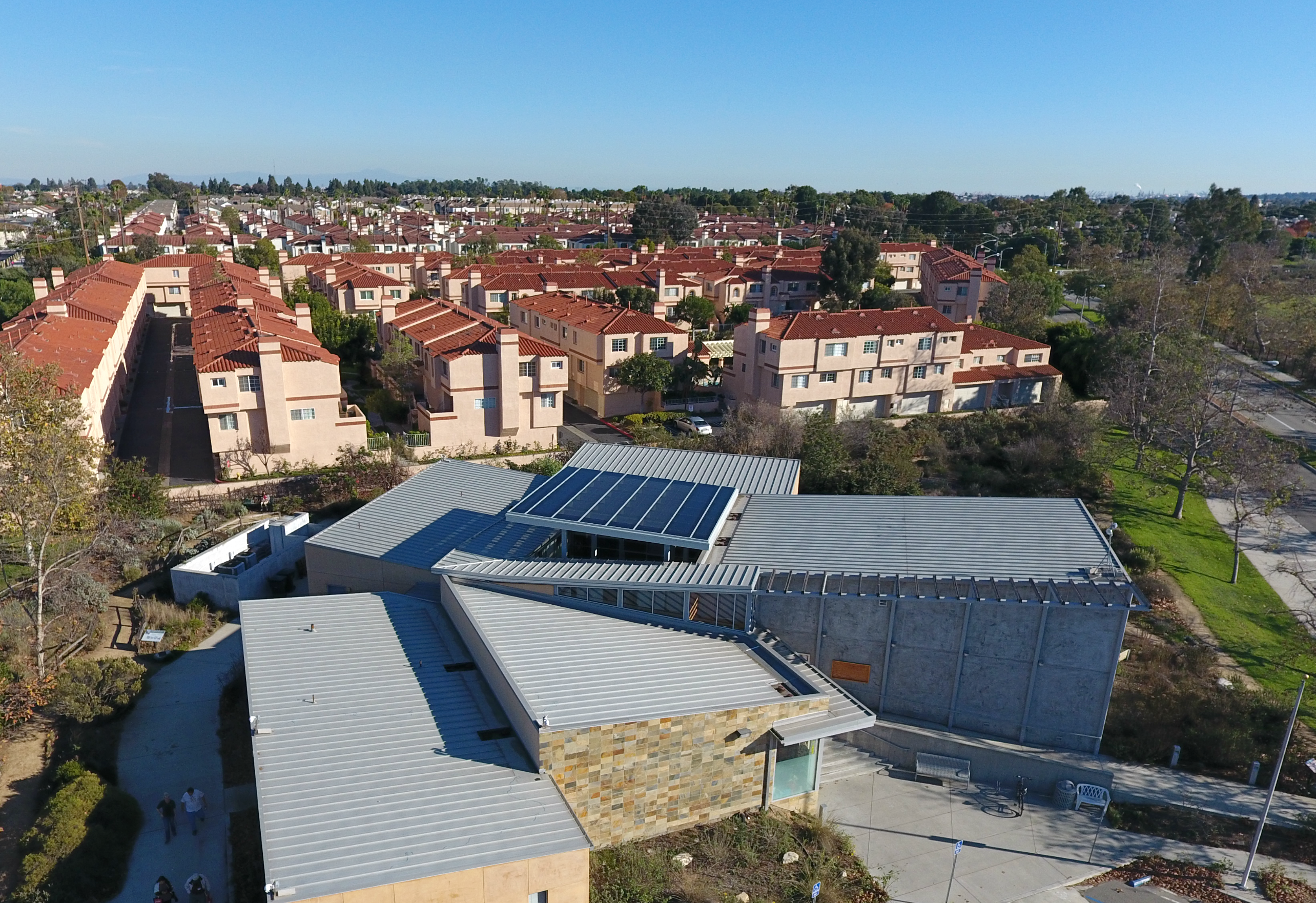 Building Integrated Photovoltaic Canopy Installed at Madrona Marsh Nature Center in Torrance, CA