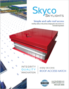 Roof Access Hatch- Info Sheet