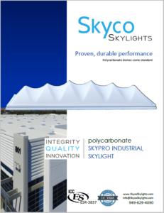 Skypro Industrial Skylights- Info Sheet