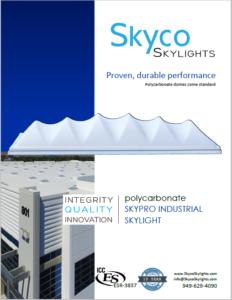 ICC-Listed Skypro Industrial Skylight