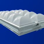UL Listed Smoke Vent with Polycarbonate domes