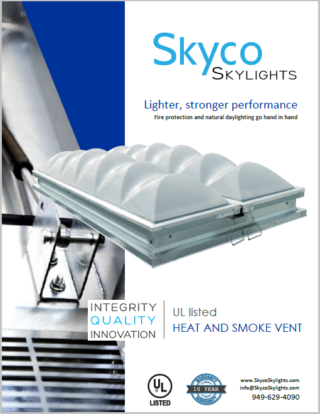 Polycarbonate Smoke Vent- Info Sheet