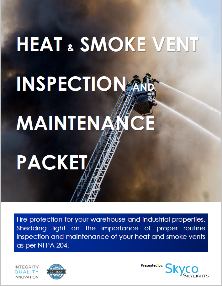 Smoke Vent Inspection Packet