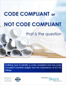 Code Compliant vs. NON Code Compliant