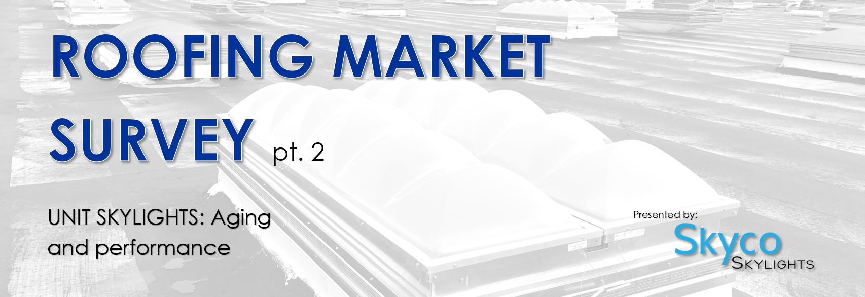 Roofing Market Survey pt. 2