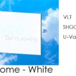 Acrylic Dome White