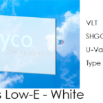Flat Glass White